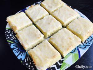Lemon Brownies レモンブラウニー