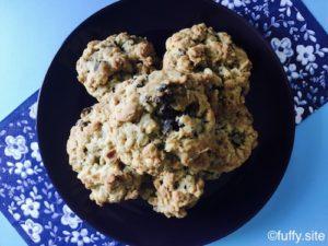オートミールレーズンクッキー oatmeal raisin cookies