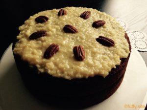 ジャーマンチョコレートケーキ German Chocolate Cake