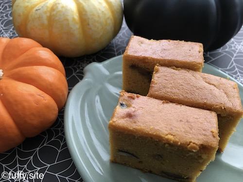 パンプキンモチケーキ Pumpkin Mochi Cake