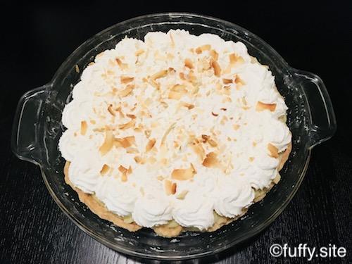 coconut cream pie ココナッツクリームパイ