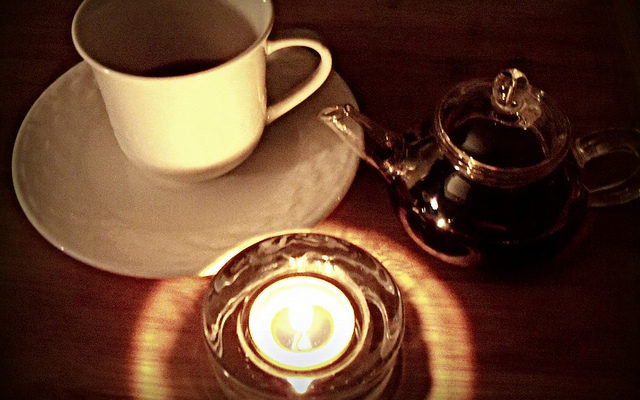 A Relaxing Evening with Tea