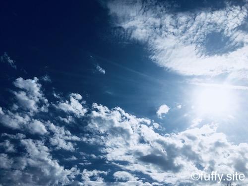 青空 blue sky