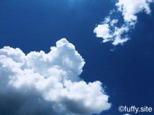Blue sky Clouds 青空 雲