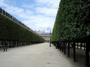 Jardin du Palais Royal パリ