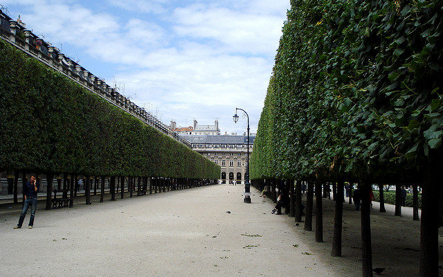Jardin du Palais Royal パリ