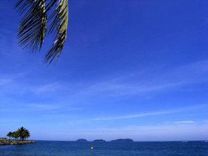 The Blue Paradise アイランド 海