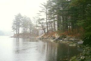Misty Morning Main メイン州