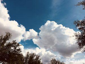 空 雲 sky