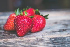 Strawberries いちご