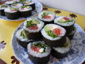 サーモンクリチ 巻き寿司