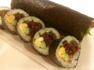 牛肉 巻き寿司