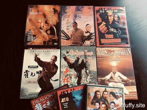 Jet Li collection DVD