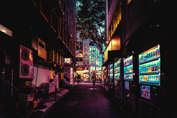 off street Japan