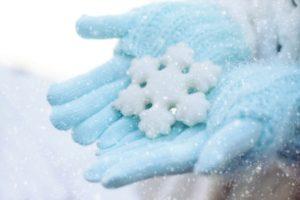 gloves snow winter