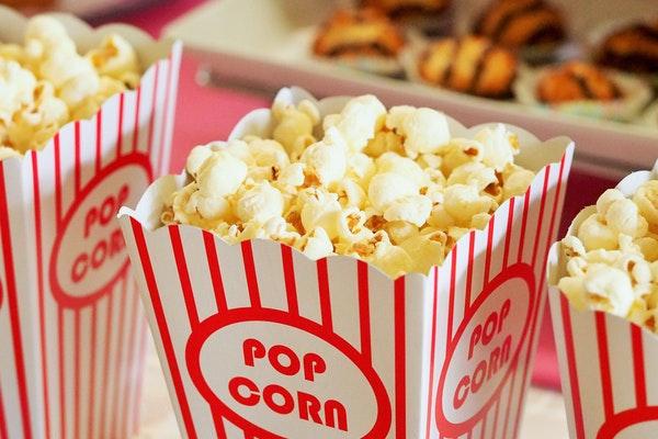 popcorn snack movie