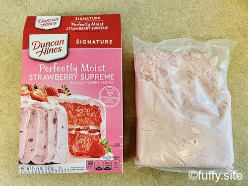 Strawberry Cake Mix
