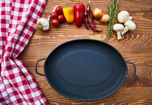 cooking foods table