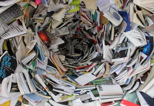 messy books