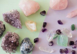 crystals purple storn