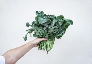 green leafs vegetable