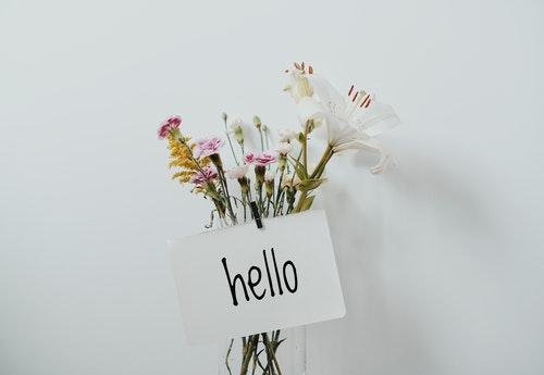Hello Flowers