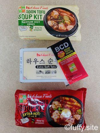 tofu soup kit
